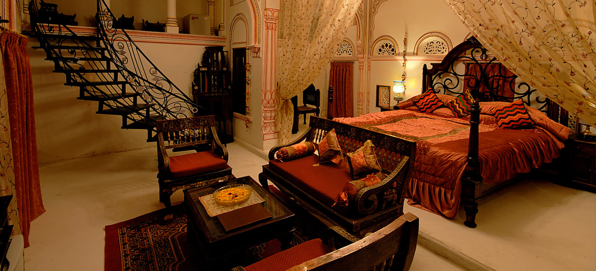 The Grand Haveli and Resort - Best Heritage Hotel in Mandawa Shekhawati India