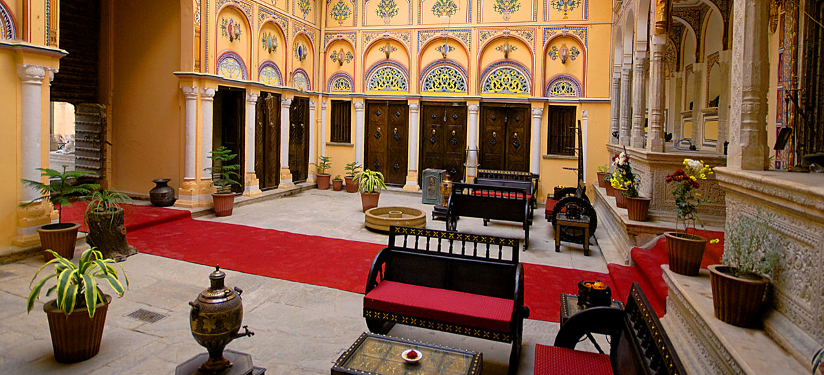 The Grand Haveli and Resort - Heritage hotel in Shekhawati region, Luxury Hotel in Nawalgarh, Heritage Presidential Suite Booking in Nawalgarh